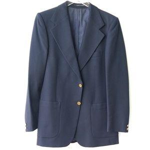 Vintage Yves Saint Laurent Navy Blazer